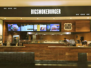 $449,000 High Volume Big Smoke Burger  Square One For Sale