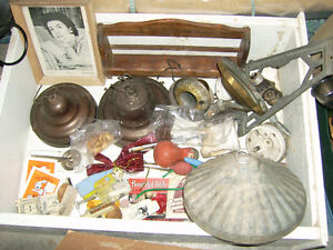 Whole box of vintage items for $30