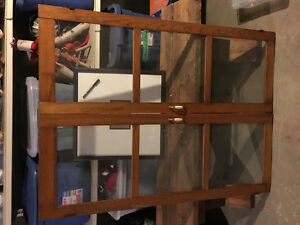Wooden/Glass cabinet doors