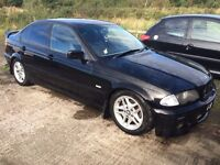 BMW 3 series alloy wheels and tyres £180