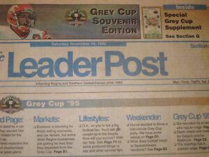 1995 Regina Grey Cup Collectables Regina Regina Area image 5