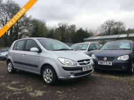 2007 56 HYUNDAI GETZ 1.1 CDX 5DR 65BHP BHP LADY OWNED CAR