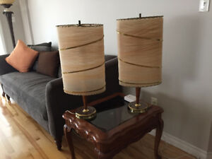 Two elegant Night-Table Lamps