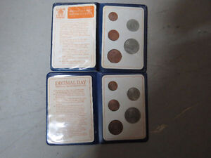 1970 Great Britain's First Decimal Set of Coins $8 OBO