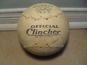 "16'' DeBeer ""Clincher"" Softball"