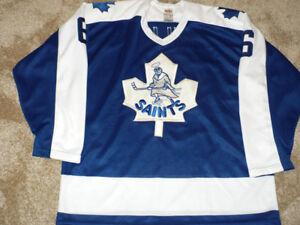 St. Catharines Saints Todd Gill 1985-86 signed CCM Jersey Large