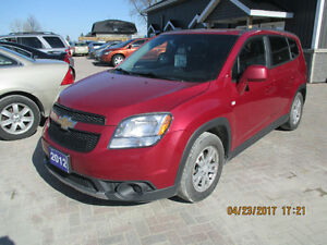 ONE YEAR WARRANTY -2012 Chevrolet Orlando 1LT Sedan