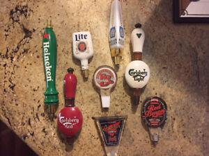 Beer tap handles bar man cave