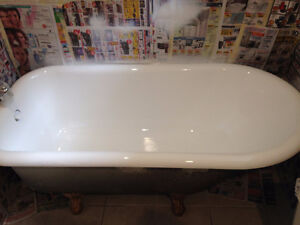 Bathtub Refinishing Tiles Reglazing Bathtub Resurfacing Tiles Cambridge Kitchener Area image 1