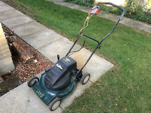 electrical lawnmower