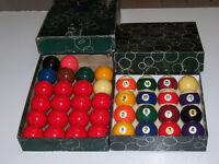 Vintage Aramith Billiard Ball Combo