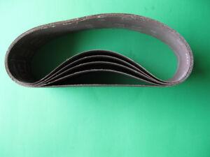 5 new 3 x 24 (60 grit) sanding belts