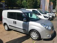 2014 63 Vauxhall Combo 1.3CDTi 16v ( 90PS ) L1H1 ( s/s ) 5 SEAT CREW CAB
