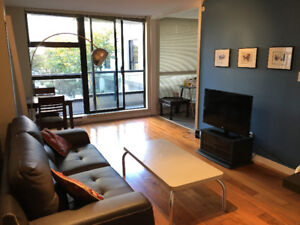 Furnished 1 bedroom + den in Yaletown for rent - available now