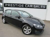 2015 Volkswagen Golf 1.4 TSI BlueMotion Tech Match (s/s) 5dr Petrol black Manual