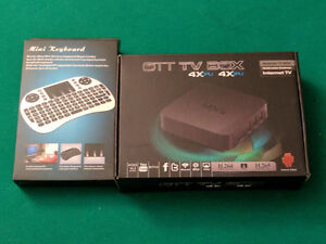 Android TV Box Fully Loaded with Keyboard