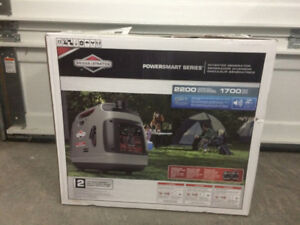 New Briggs and stratton 2200 generator