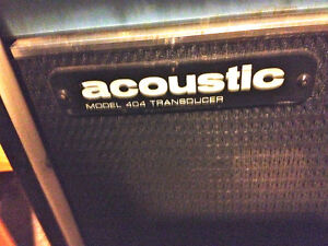 late 1960s / early 70's Acoustic Control Corporation model 404