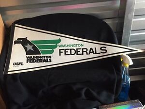 "30""L Washington Federals pennant"