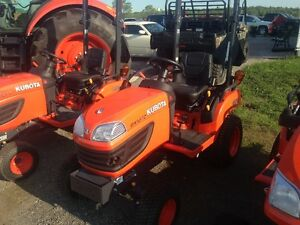 New Kubota BX1870 Tractor, Mower and Front Blower