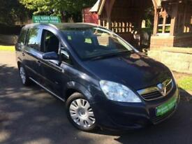 Vauxhall Zafira 1.8i Easytronic automatic , 66000 miles , 7 seater