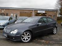 2007 07 MERCEDES-BENZ C CLASS 1.8 C180 KOMPRESSOR SE SPORTS 3D AUTO 141 BHP