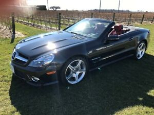 2011 Mercedes SL550 - no accidents, low km, Designo interior