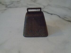 Vintage Handmade Cow Bell 3.5 Inches High