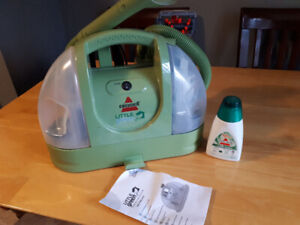 Bissell Green Machine carpet/upholstery cleaner/spot cleaner.
