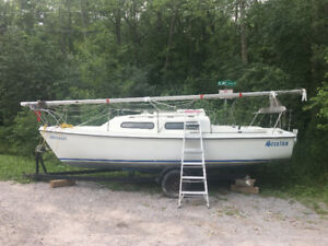 Sirius 22 daysailer $2900.00 or trade for motor boat