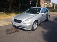 2002 Mercedes-Benz C200 Kompressor 2.0 Petrol Avantgarde Manual Silver 2 Keys