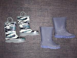 variety of rain boots