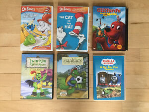 Seuss Clifford Franklin & Thomas DVDs