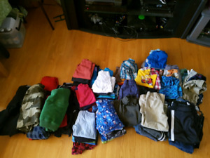 Boys clothes from size 3-5.