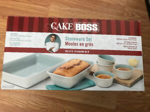 Cake Boss Stoneware (ceramic) set