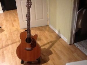 Electric accoustic guitar