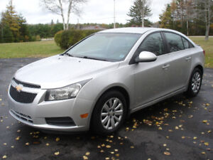!!! 2011 CHEV CRUZE   LADY OWNED !!!