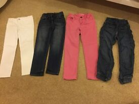 GIRLS GAP JEANS AGE 5 AND 6