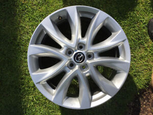 "Mazda OEM Rims wheel 19"" 14.3x5 bolt pattern - Look New"