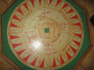 Older crokinole and games board