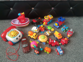 Magnetic cars and other toys, postage available