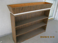 Bookcase with planter