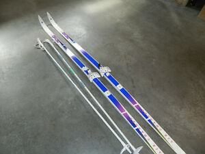 Ensemble de skis de fond Tecno