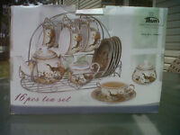 Thun Porcelin 16 piece Tea Set