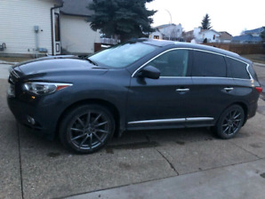 2013 infiniti jx35 theater, technology package 360 camera