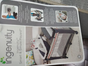 Ingenuity Smart and simple Playard/Fisher price Bouncer