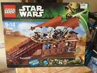 LEGO Star Wars Jabbas Sail Barge 75020 Brand New & Sealed