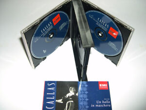 Maria Callas - Un Ballo in Maschera (1999) Coffret 2 cds - Opéra