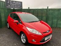 2012 FORD FIESTA 1.25 ZETEC WITH ONLY 7876 MILES