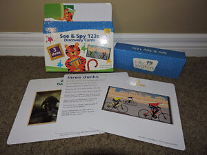 Baby einstein See & Spy 123 Discovery cards London Ontario image 1